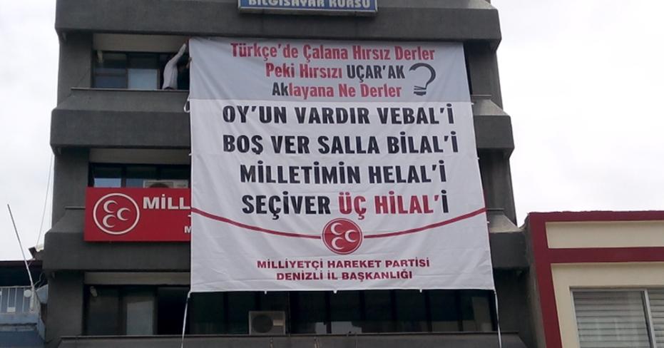 MHP ve AKP Pankart ''Savaş'ı'' Devam Ediyor!