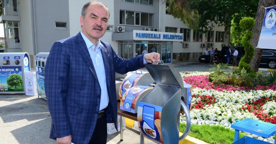 Pamukkale Belediyesi'nden Çevre Atağı