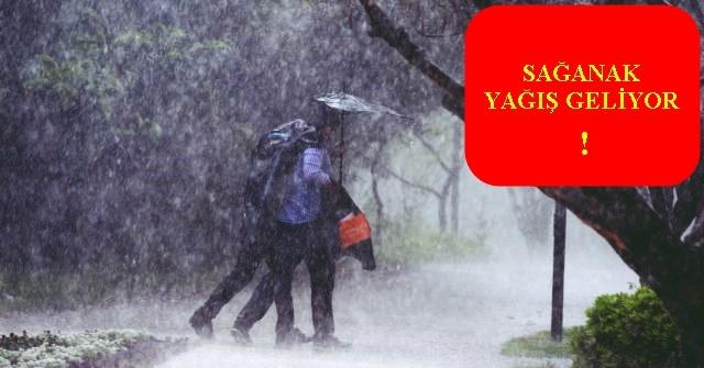 Dikkat Kuvvetli Yağış!