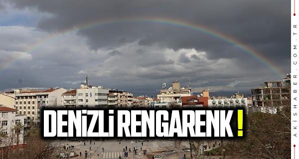 Denizli'de rengarenk gökyüzü!