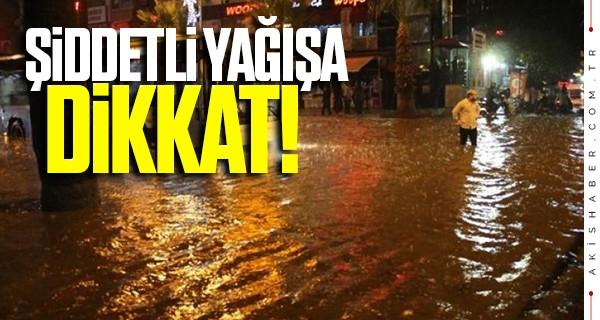 Şiddetli yağışa dikkat! 12-13 Ocak Denizli hava durumu