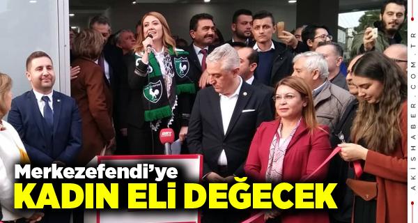 CHP'nin Merkezefendi Seçim Bürosu Açıldı