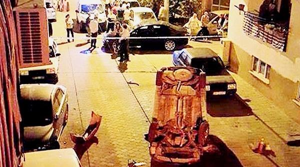Emek Caddesi'nde Şaşkınlık Yaratan Kaza!