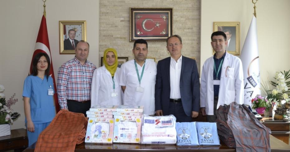 Tavas Belediyesi'nden Devlet Hastanesi'ne Anlamlı Proje