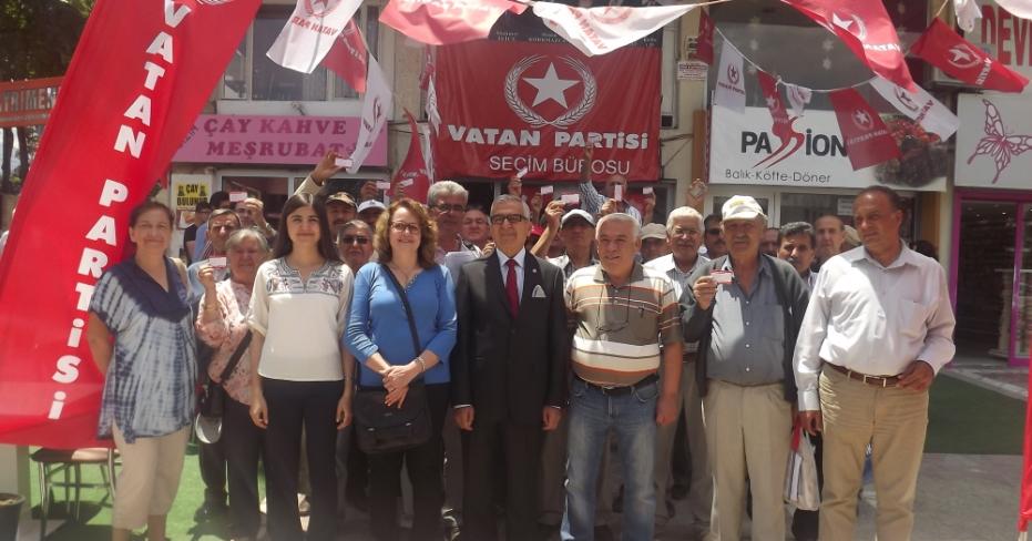 Vatan Partisi Denizli'de Seçim Hazırlıklarını Tamamladı