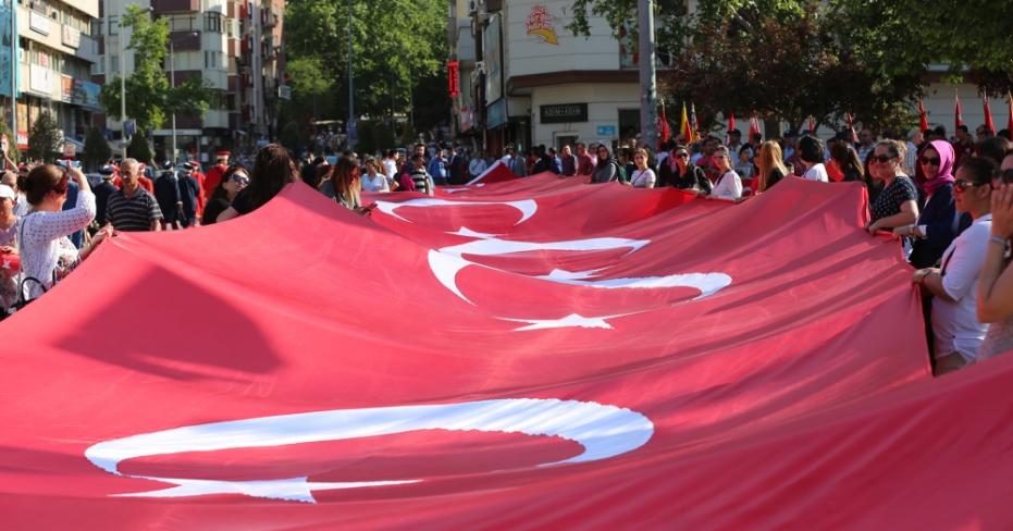 Denizli'de 15 Mayıs Milli Mücadele Coşkusu