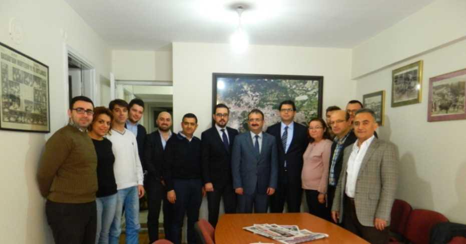 Vergi Dairesi Başkanı Zafer Evci BESİAD'ı Ziyaret Etti