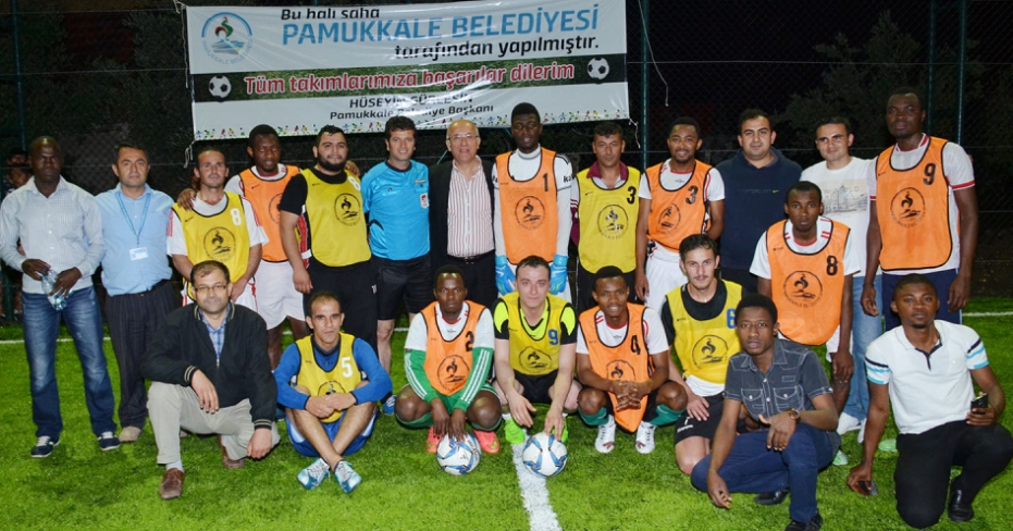 Pamukkale Futbol Şöleni'nde Heyecan Devam Ediyor
