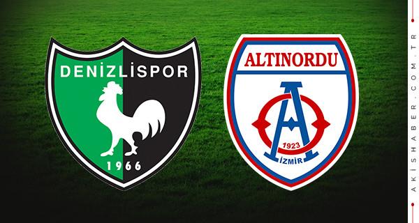 Denizlispor Altınordu maçı şifresiz hangi kanalda saat kaçta?