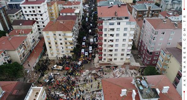 Kartal'da çöken binadan acı haber!