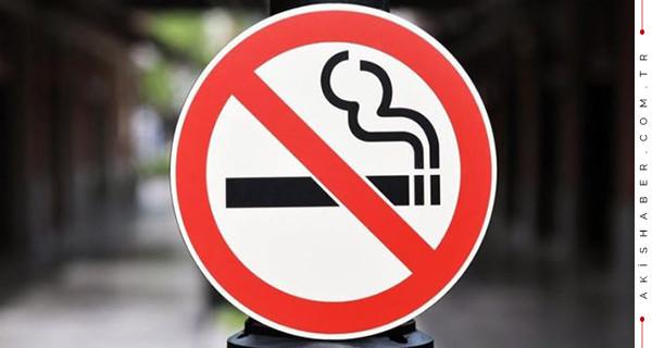 Sokak ve parklarda sigara içmek yasaklanıyor mu?
