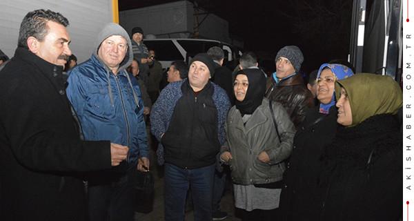 Divarcı, O Mağdurlarla Başkent'e Gitti