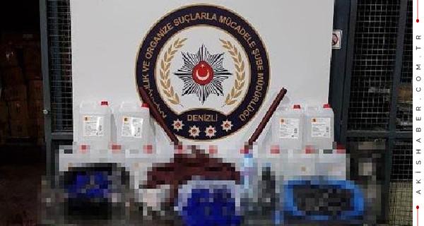 Kaçak içkide 1 zanlıya tutuklama