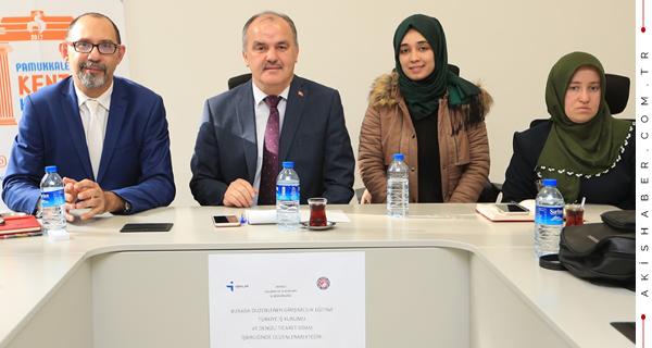 Pamukkale Belediyesi Gençlere Öncü Oluyor