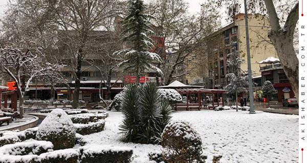 Denizli'ye hafta sonu için kar yağışı uyarısı!