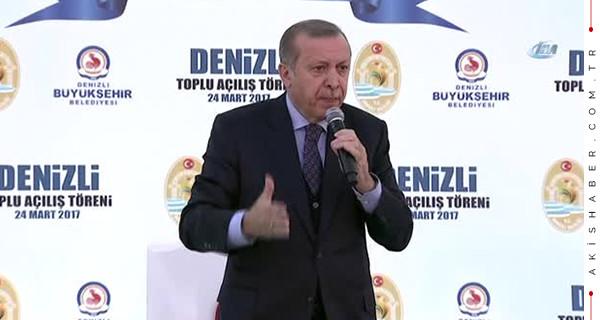 Cumhurbaşkanı Erdoğan Denizli mitingi canlı yayın izle