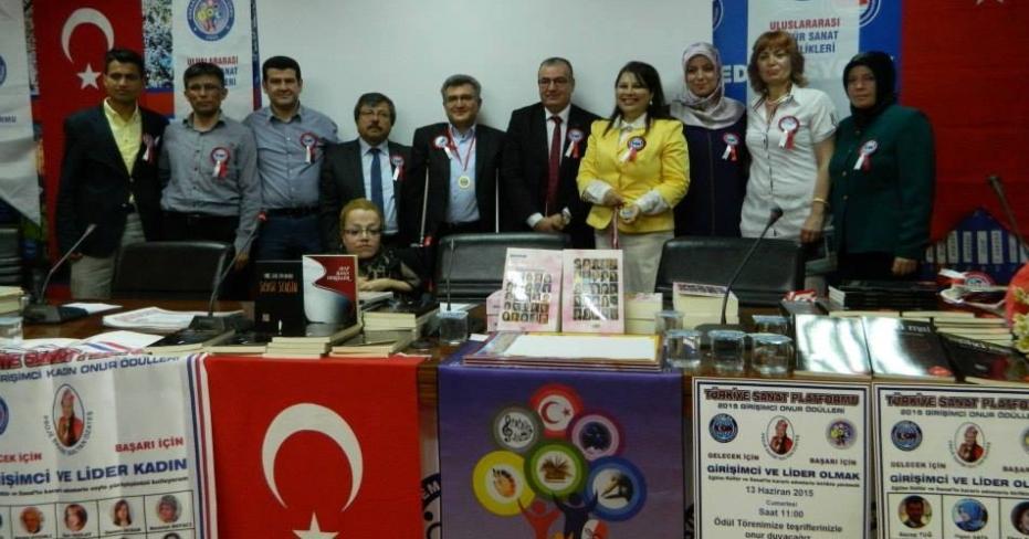 Türkiye Sanat Platformu Üyelerini Ödüllendirdi