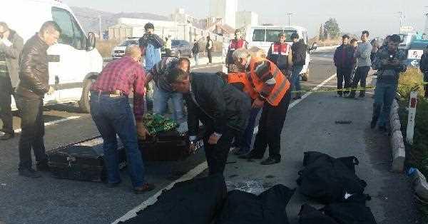 İzmir'de Katliam Gibi Kaza 6 Kişi Öldğü