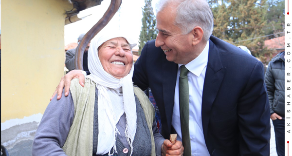 Başkan Zolan'a Çivril'de Sevgi Seli