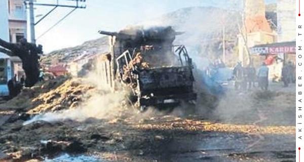 O taraftarlar kamyon yangınından aklandı!