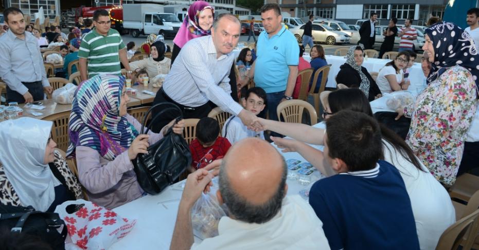 Başkan Gürlesin'den Personel ve Ailelerine İftar Yemeği