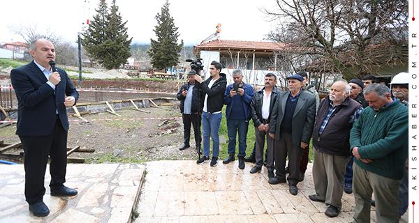 39 Yıl Önce Yapılan Cami Yenileniyor