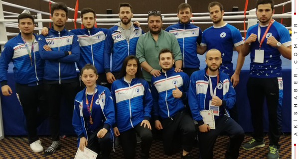 PAÜ Şampiyonayı Silip Süpürdü