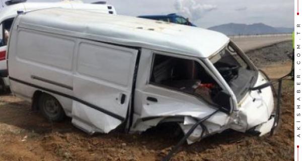 Araç Kontrolden Çıktı: 1 Yaralı