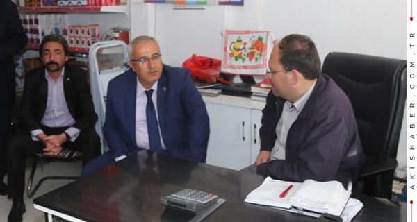 Başkan Arslan Esnafla İstişare Etti
