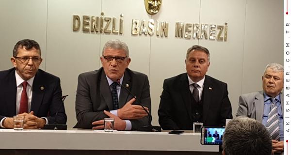 Musavvat Dervişoğlu Denizli'de
