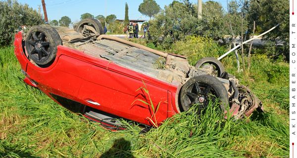 Aydın'daki Kazadan Çal'a Acı Haber