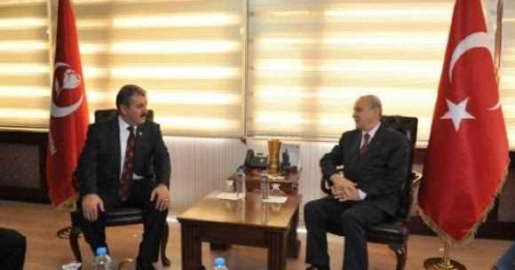 BBP Genel Seçime MHP Çatısı Altında Girecek