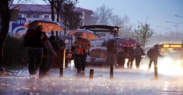 Meteorolojiden Hafta Sonu Şiddetli Yağış  Uyarısı!