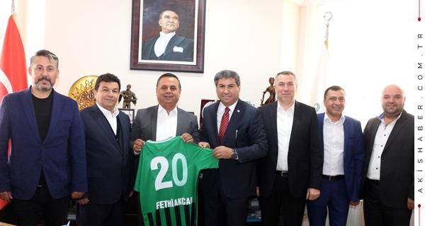 Denizlispor'dan Başkan Akcan'a Teşekkür