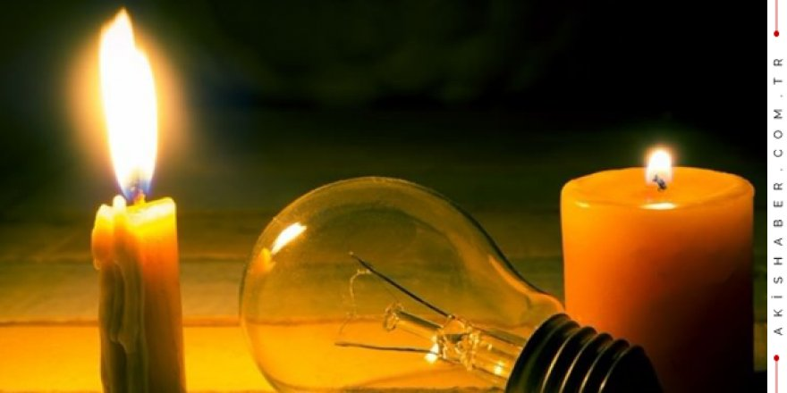 Denizli'de 15 Nisan Elektrik Kesintisi