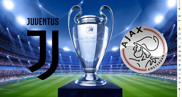 Juventus Ajax Justin TV şifresiz canlı izle