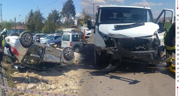 Acıpayam'da Korkunç Kaza: 3 Yaralı