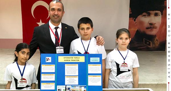 Sarayköy'de Ortaokul Öğrencilerinden Dikkat Çeken Projeler