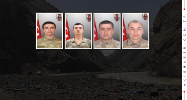 İşte kahraman şehit askerlerimiz!