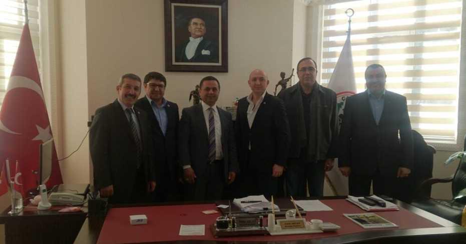 MHP'li Meclis Üyelerinden Akcan'a Ziyaret!