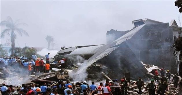 Endonezya'da Uçak Düştü! En Az 116 Ölü!
