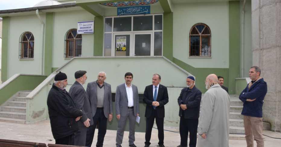 Camilerin Çevre Düzenlemesi Pamukkale Belediyesi'nden