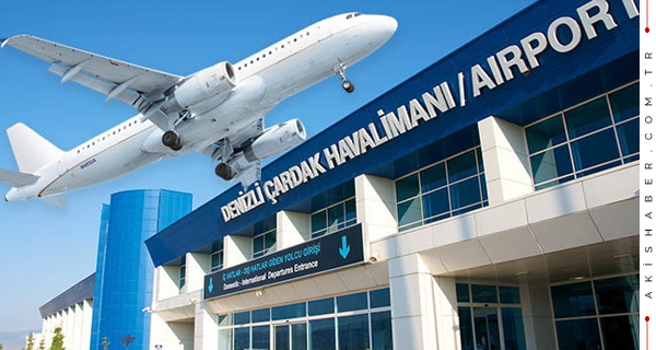Çardak Havalimanı Nisan 2019 Verileri Açıklandı