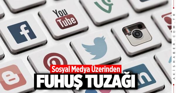 Denizli'de Sosyal Medya Üzerinden Fuhuş Tuzağı
