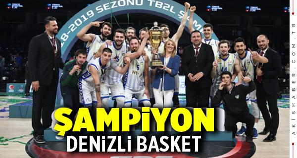 Merkezefendi Belediyesi Denizli Basket TBL 2. Lig Şampiyonu