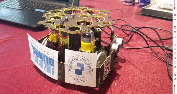 PAÜ'nün Robotu Erzincan'dan Eli Boş Dönmedi