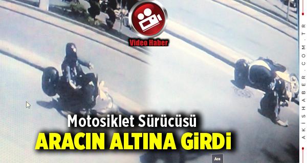 Denizli'de Motosiklet Kazası
