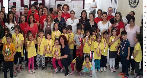 Minik Sporcular Projesi Final Töreni Yapıldı