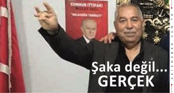 MHP İlçe Başkanı!..Ama AK Parti üyesi