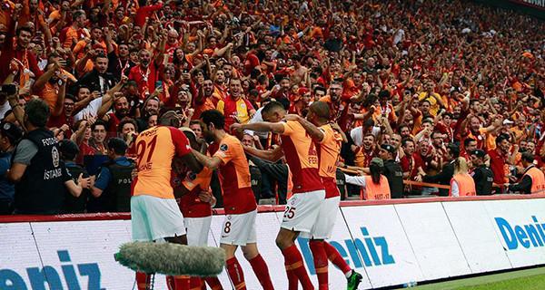 2018-2019 sezonu şampiyonu Galatasaray!